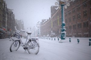 Winter in Amsterdam von Lauri Väin (flickr)