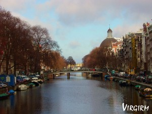Amsterdam Grachten von virgirm (flickr)